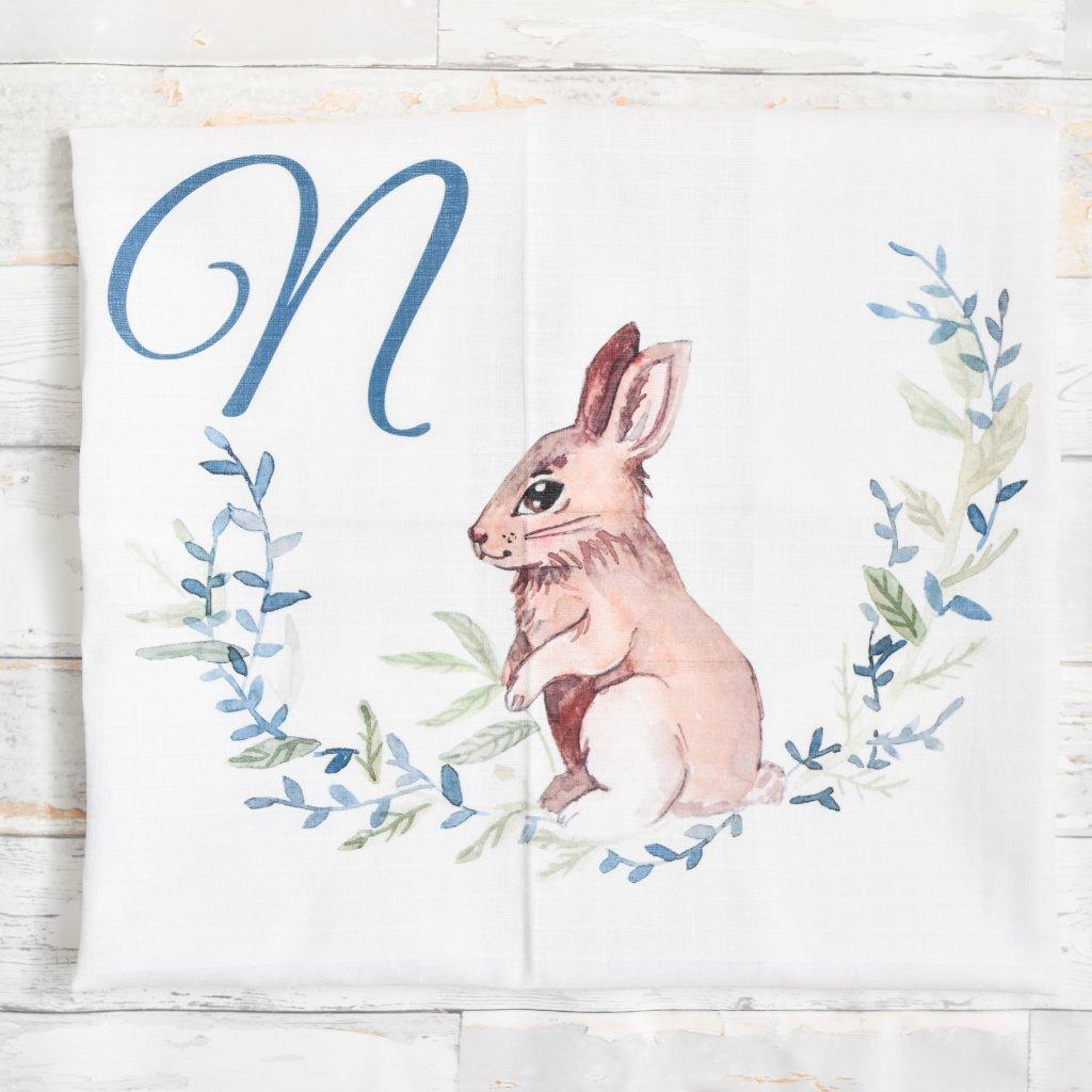 Zajíček - monogram N