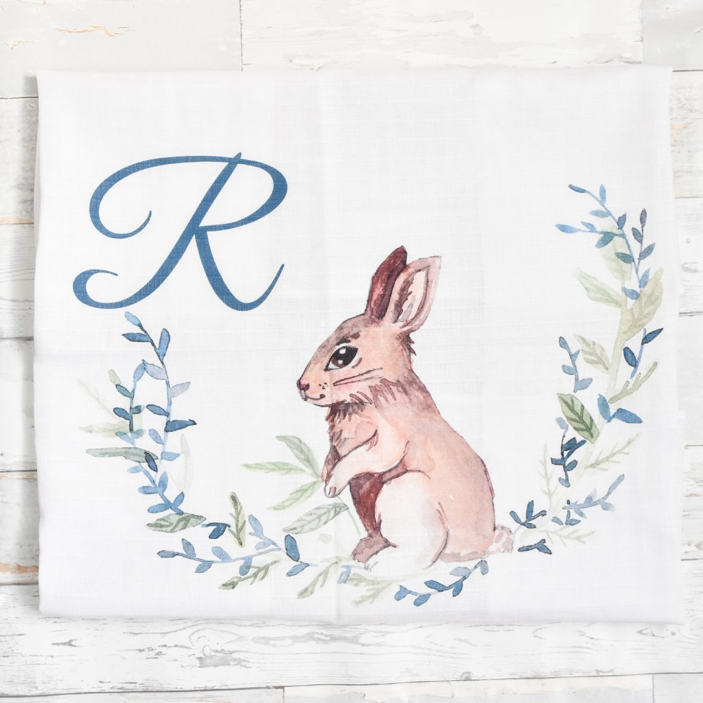 Zajíček - monogram R