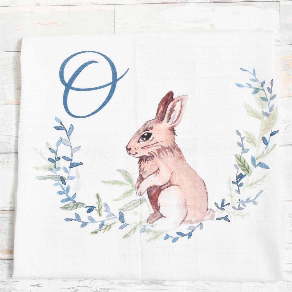 Zajíček - monogram O