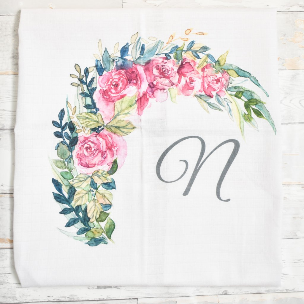 Květiny - monogram N
