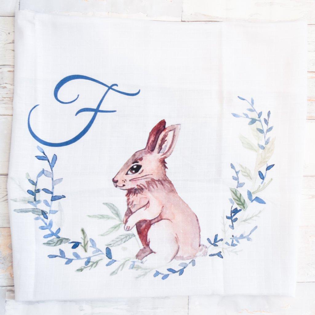 Zajíček - monogram F