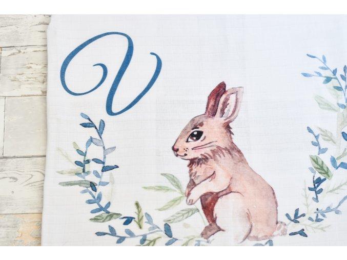Zajíček - monogram V