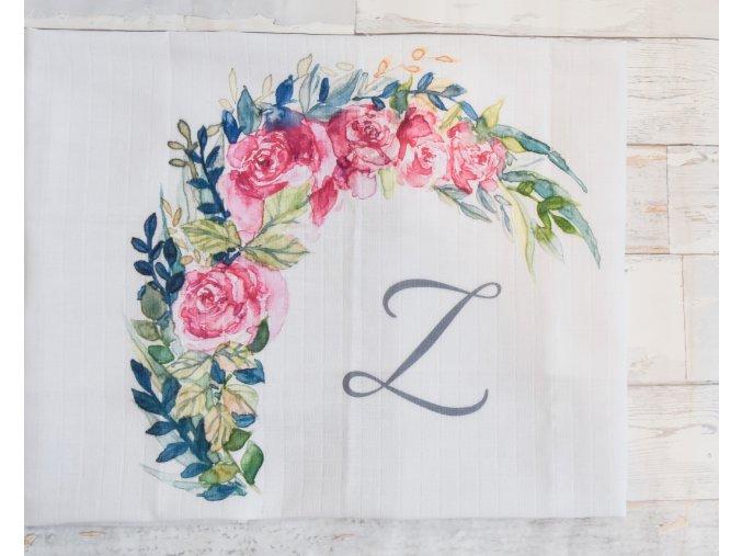 Květiny - monogram Z