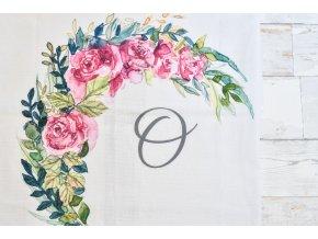 Květiny - monogram O