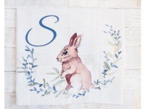 Zajíček - monogram S