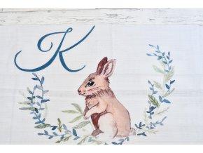 Zajíček - monogram K