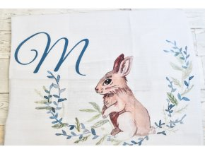 Zajíček - monogram M